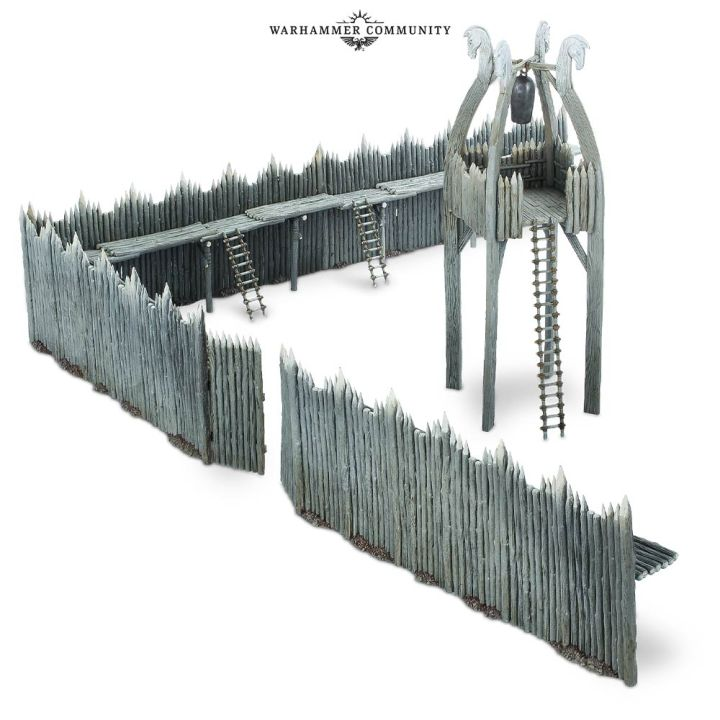 Rohan Palisades Terrain Games Workshop Middle Earth Strategy Battle Game