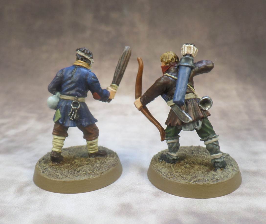 Ruffians Scouring of the Shire Games Workshop Middle Earth Strategy Battle Game