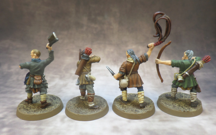 Ruffians Sharkey Games Workshop Middle Earth Lord of the Rings Strategy Battle Game