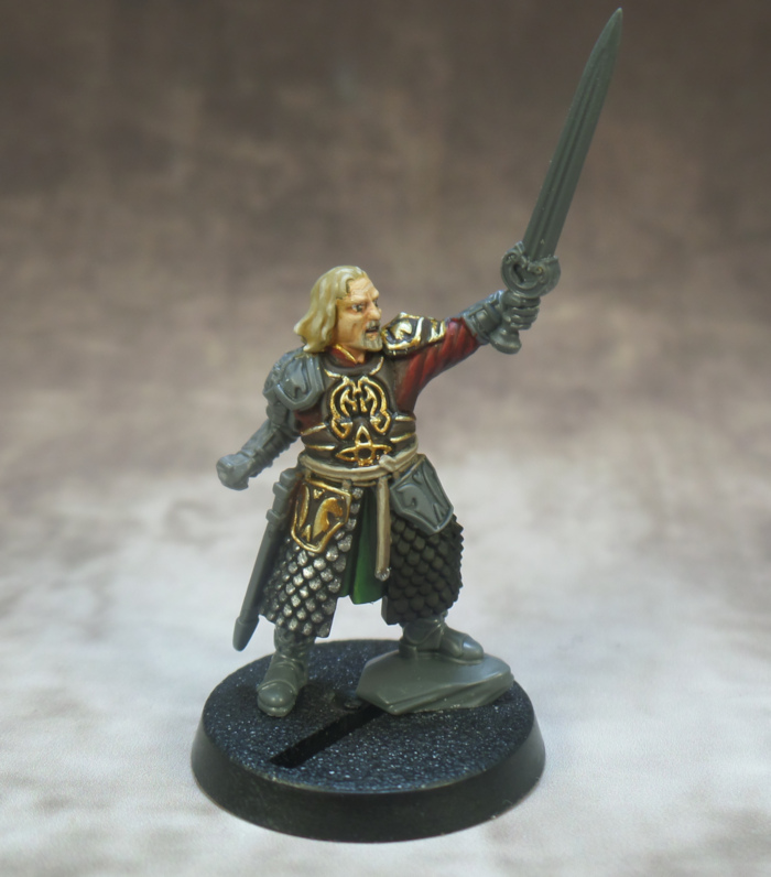 Theoden Rohan Middle Earth Lord of the Rings Strategy Battle Game Games Workshop