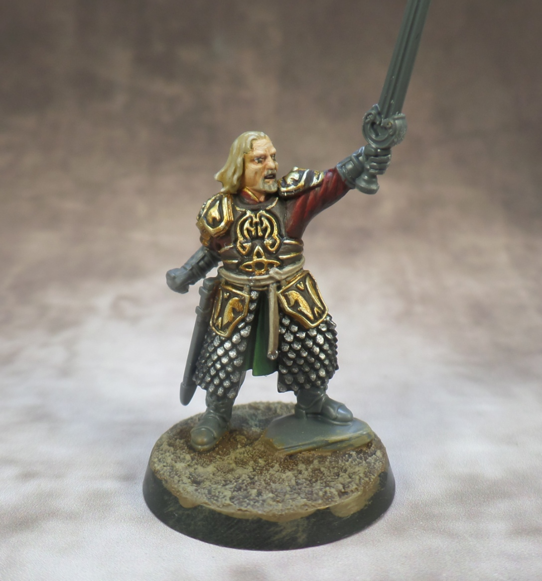 Theoden Rohan Middle Earth Strategy Battle Game Games Workshop