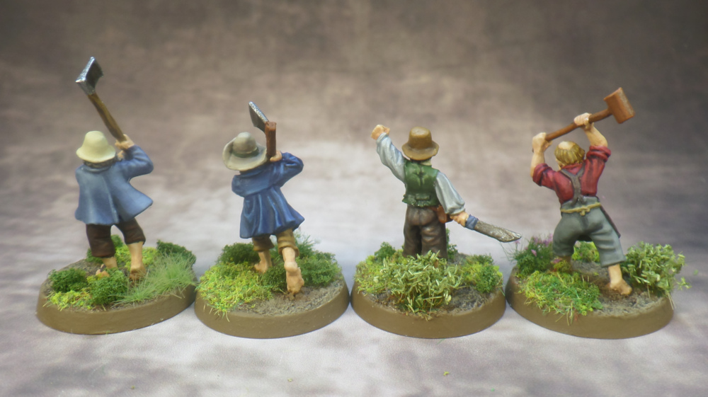 Hobbit Militia Based Middle Earth Strategy Battle Game Lord of the Rings Games Workshop