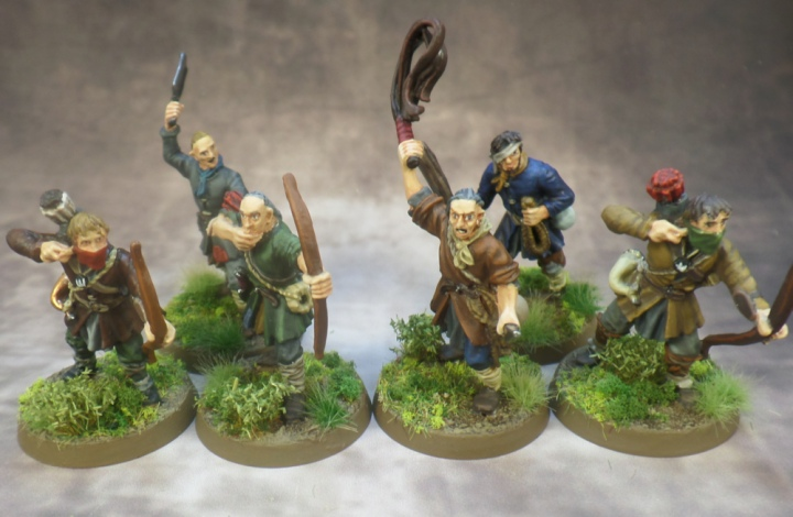 Ruffians 1-6 Based Middle Earth Strategy Battle Game Lord of the Rings Games Workshop
