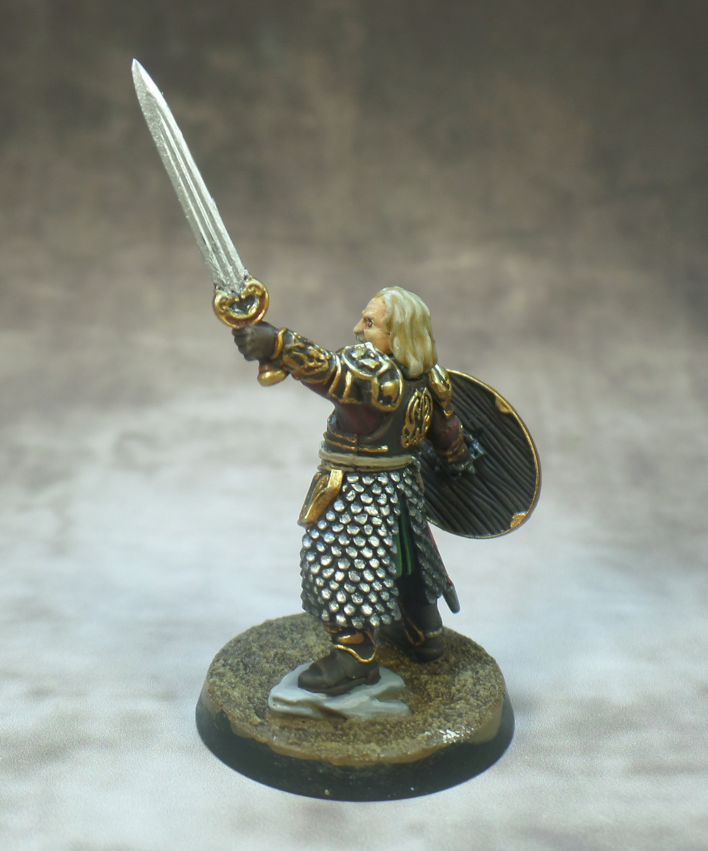 Theoden Rohan Games Workshop Lord of the Rings Middle Earth Strategy Battle Game