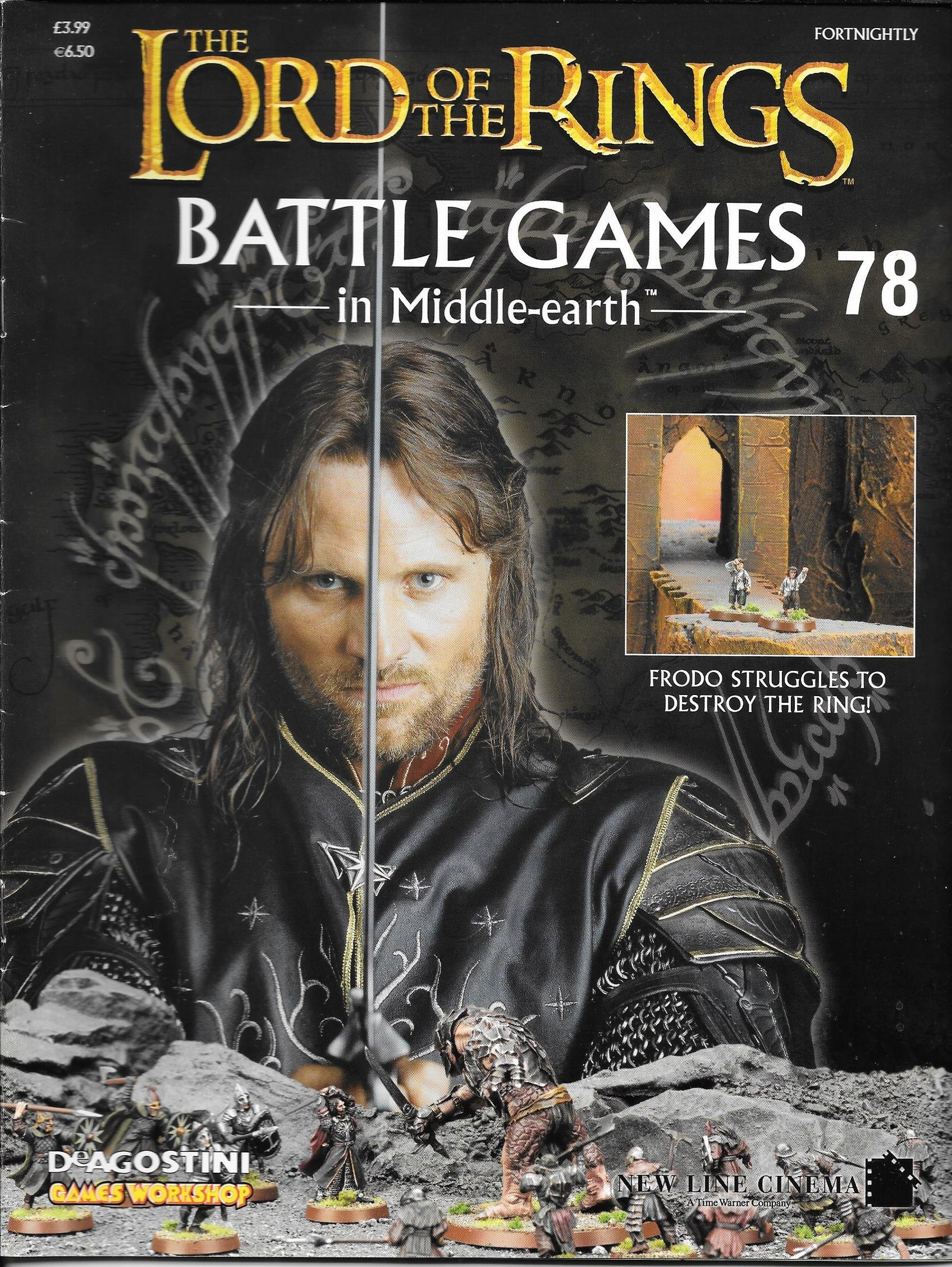 Battle Games in Middle-Earth Magazine Games Workshop Deagostini