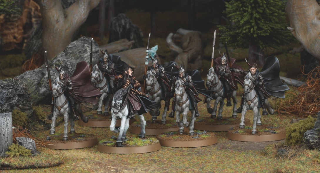 Elrond and Rivendell Knights Middle Earth Strategy Battle Game Games Workshop