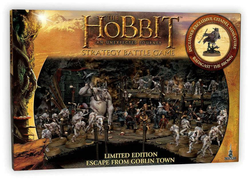Escape From Goblin Town Hobbit SBG Starter Set Games Workshop