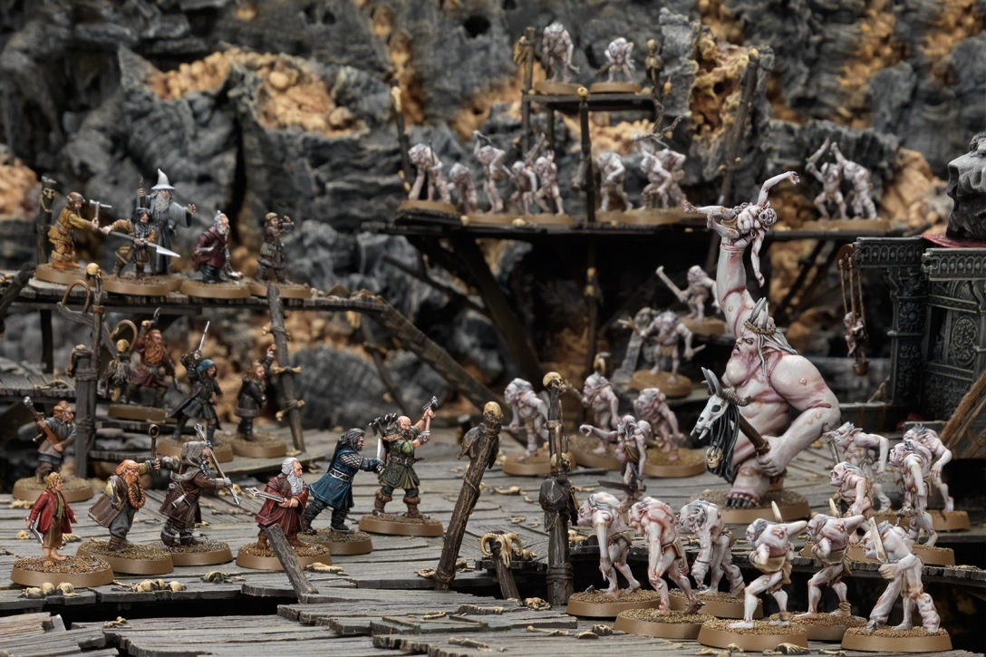 Escape From Goblin Town Middle Earth SBG Games Workshop