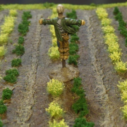 Into Farmer Maggot's Crop