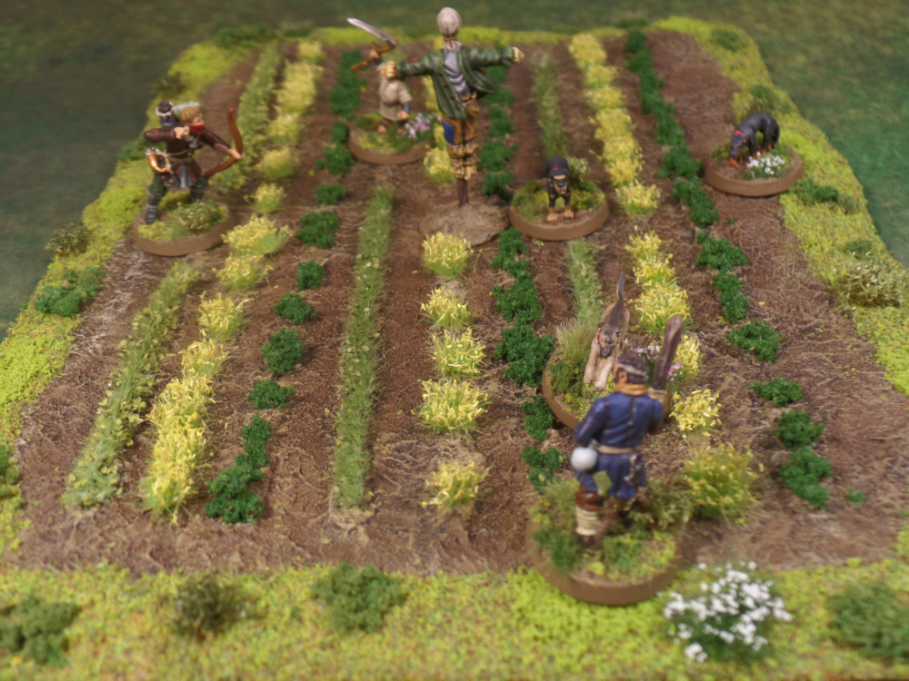 Hexy Scarecrow Farm Crops Terrain Lord of the Rings Scouring of the Shire Farmer Maggot Middle Earth Strategy Battle Game Ruffians