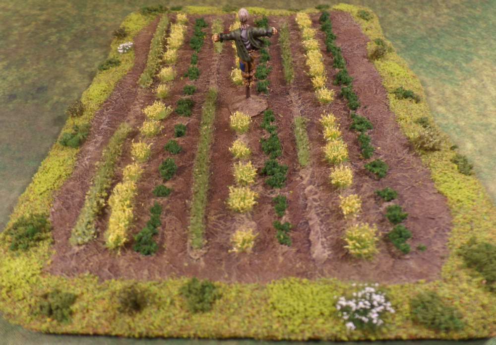 Hexy Scarecrow Farm Crops Terrain Lord of the Rings Scouring of the Shire Farmer Maggot Middle Earth Strategy Battle Game