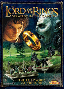 Fellowship of the Ring Journeybook Lord of the Rings SBG Games Workshop
