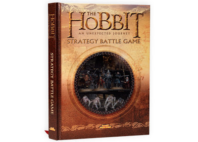 Hobbit SBG An Unexpected Journey Hardcover Rulebook Games Workshop