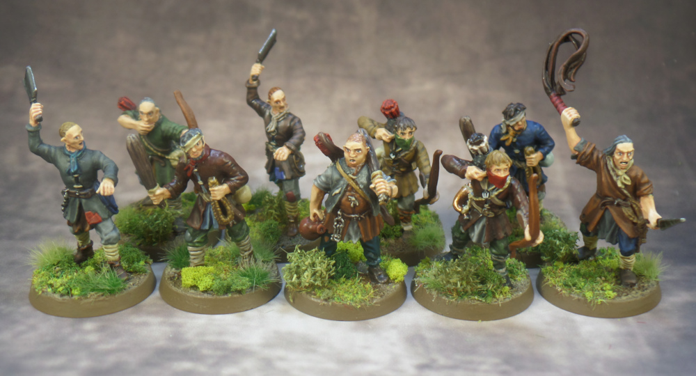 Ruffian 1-9 The Shire Lord of the Rings Strategy Battle Game Middle Earth Games Workshop