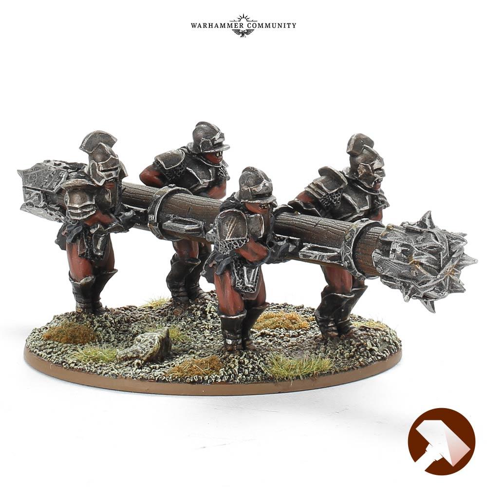 Battering Ram Uruk Hai Made to Order Rohan At War Middle Earth Strategy Battle Game Games Workshop