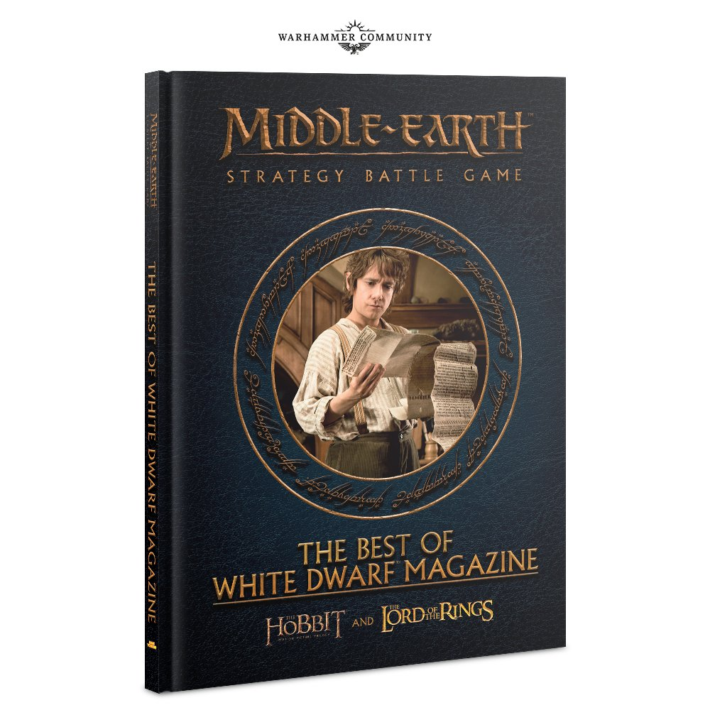Best of White Dwarf Book Middle Earth Strategy Battle Game Games Workshop