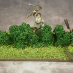 How to Make Hedge Terrain for MESBG/LOTRSBG