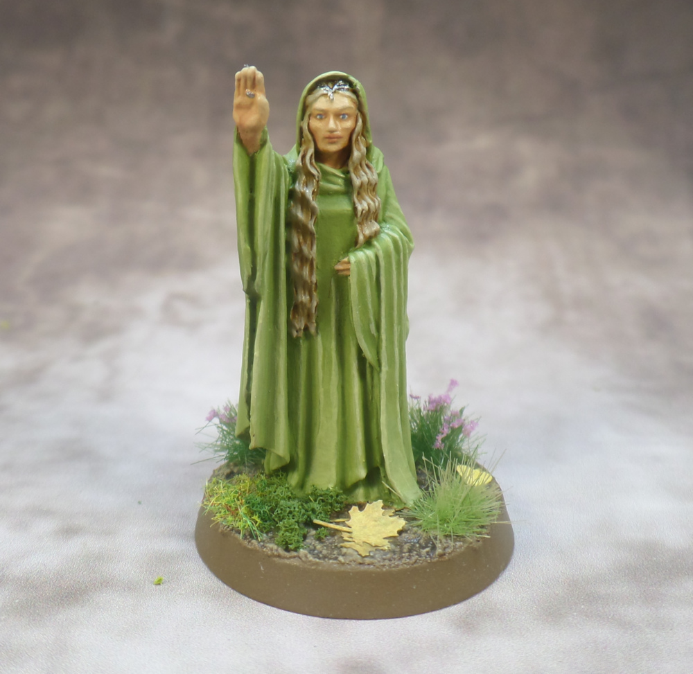 Galadriel Lothlorien Elves Games Workshop Lord of the Rings Middle Earth Strategy Battle Game