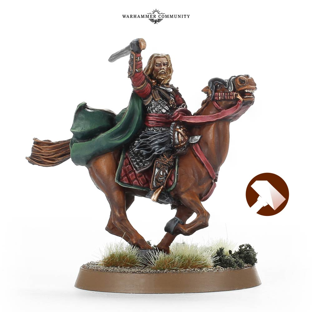 Gamling Rohan At War Middle Earth Strategy Battle Game Games Workshop