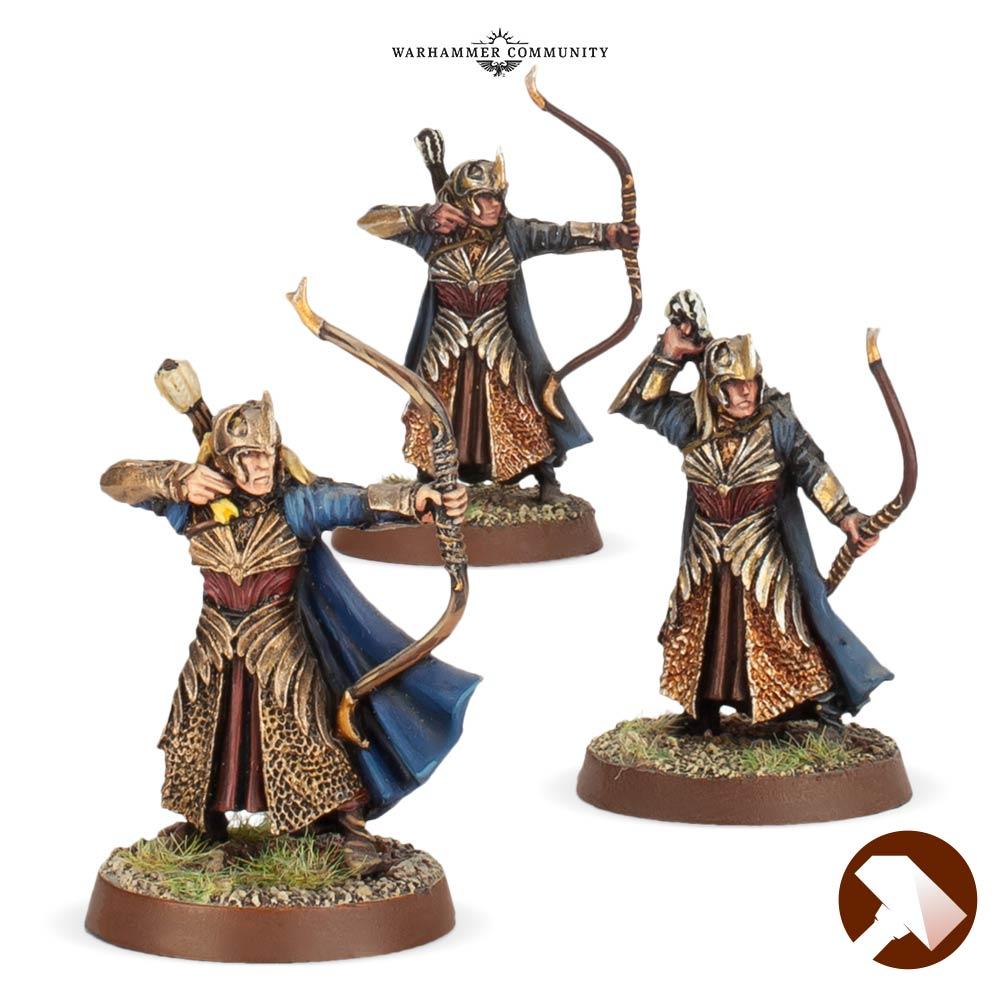 Haldir's Elves 2 Made to Order Rohan At War Middle Earth Strategy Battle Game Games Workshop
