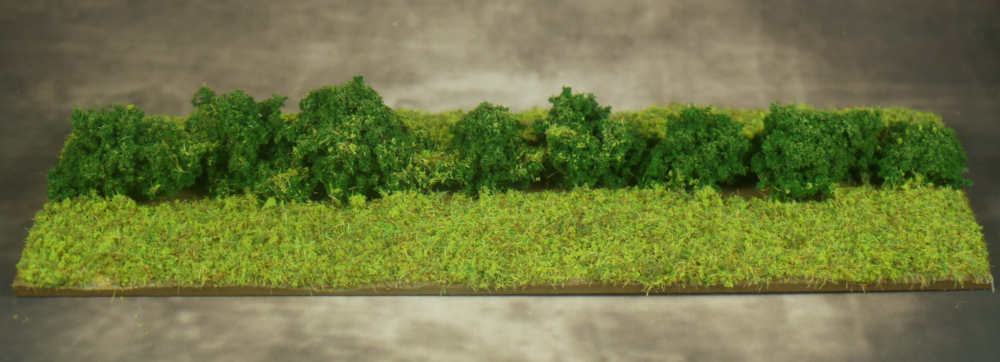 Hedge Terrain with Flock applied