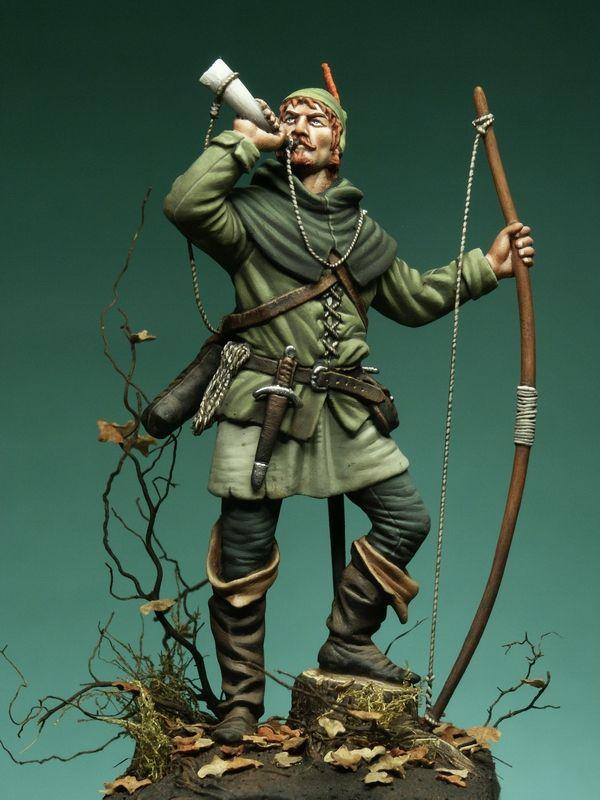 Robin Hood miniature
