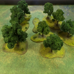 Trees for Scouring of the Shire