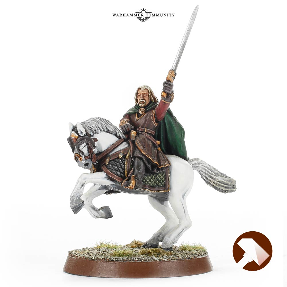 Theoden Made to Order Rohan At War Middle Earth Strategy Battle Game Games Workshop