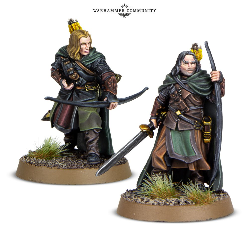 Anborn and Mablung Middle Earth Strategy Battle Game MESBG Games Workshop