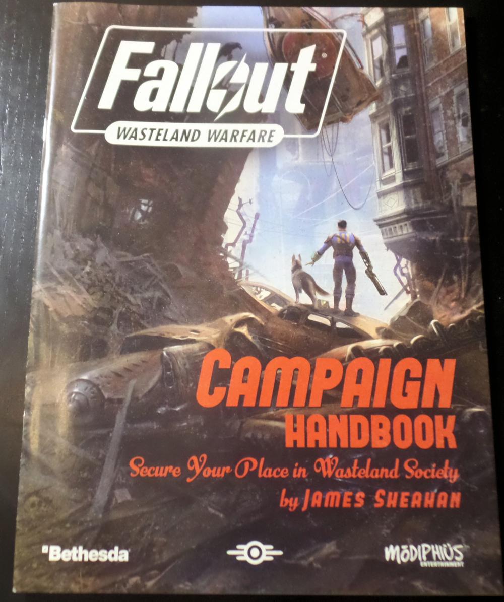 Campaign Handbook Fallout Wasteland Warfare Modiphius