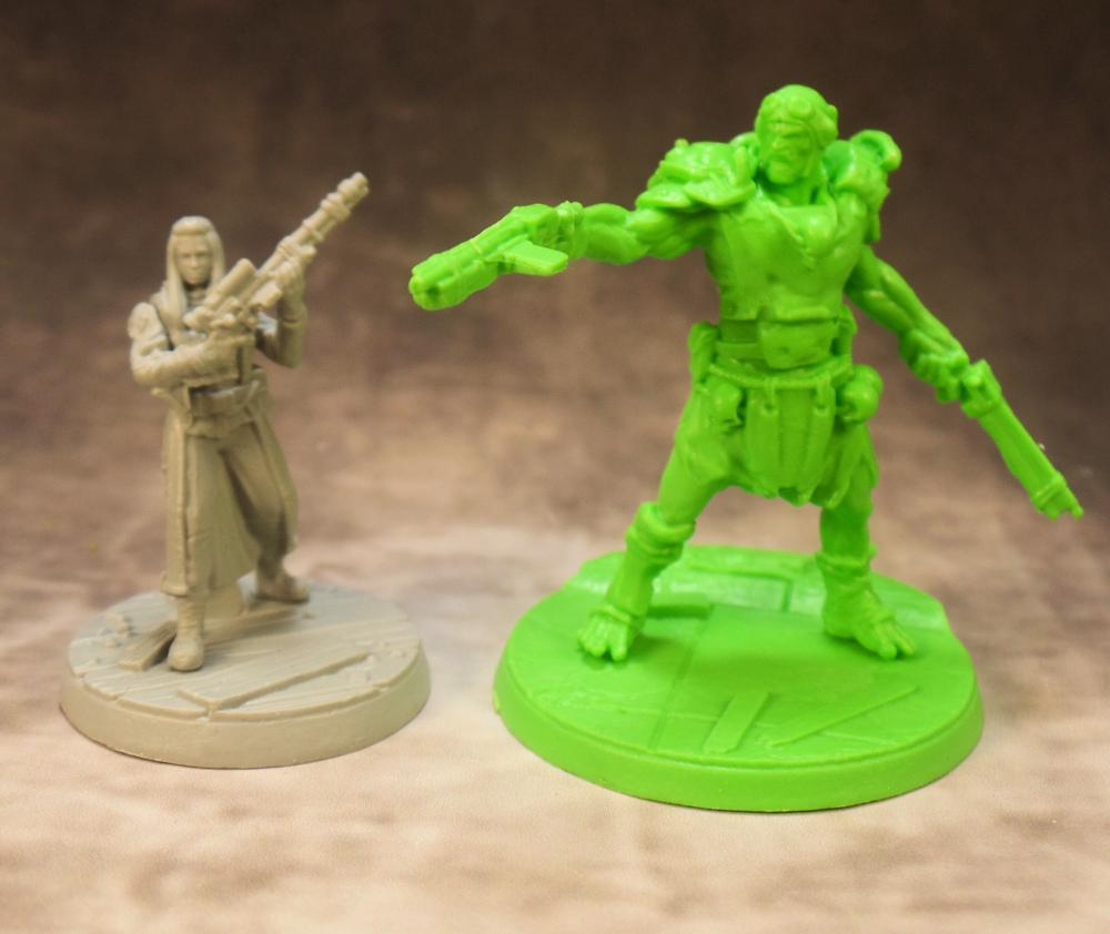 Settler and Super Mutant Aviator Fallout Wasteland Warfare Modiphius