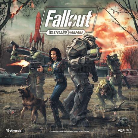 Fallout Wasteland Warfare Starter Box Modiphius