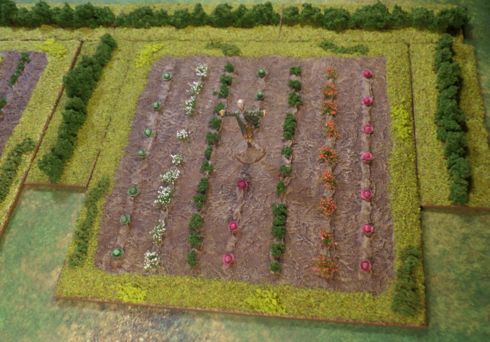 Farmer Maggot's Crops Fields Terrain Middle Earth Strategy Battle Game The Shire Games Workshop
