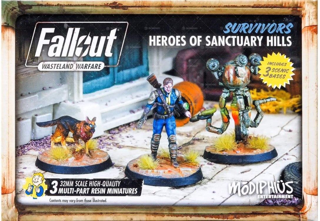 Heroes of Sanctuary Hills Fallout Wasteland Warfare Modiphius