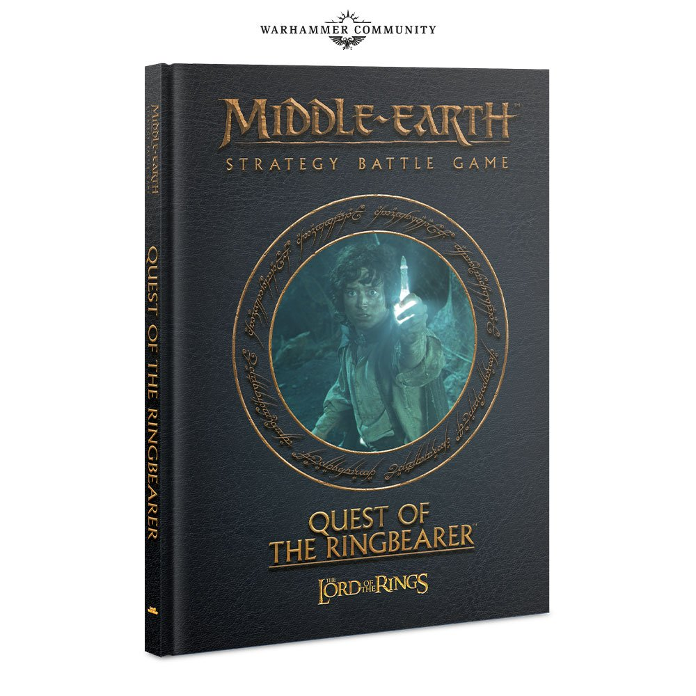 Middle Earth Strategy Battle Game MESBG Games Workshop Quest of the Ringbearer Book