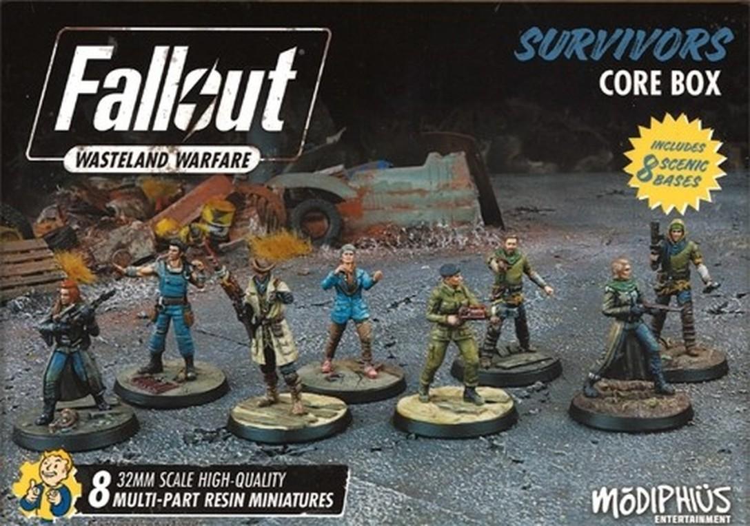 Survivors Core Box Fallout Wasteland Warfare Modiphius