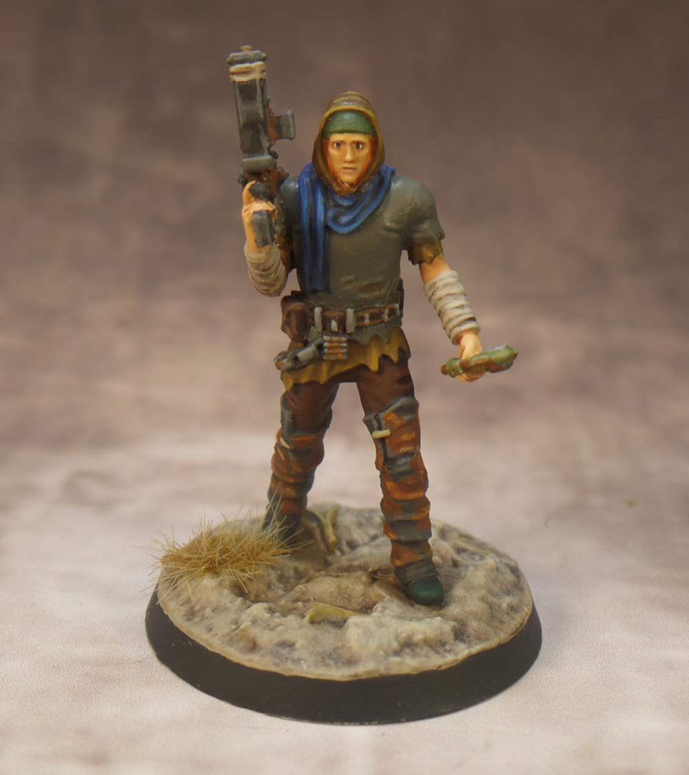 Generic Survivor Resin Set Fallout Wasteland Warfare Modiphius