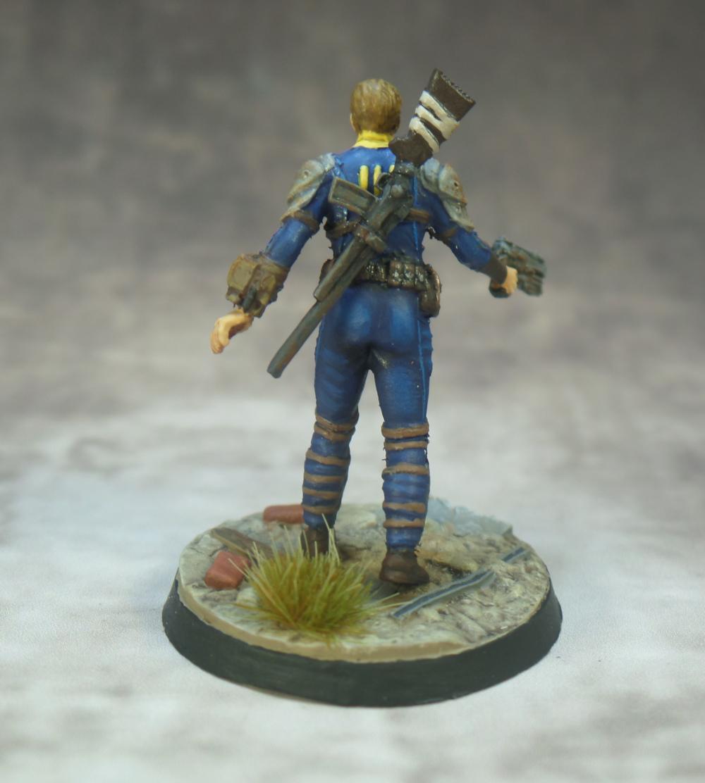 Sole Survivor Fallout Wasteland Warfare Modiphius