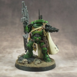 A Dark Angels Update and Thoughts on Painting 40k